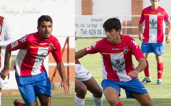 Javi Borrego y Abel Conejo, preseleccionados con la Seleccion Uefa de Castilla y León
