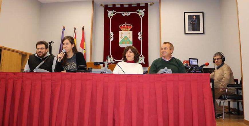 José Abril, Juan Carlos Martín y Elisabeth Ovejero, ganadores del sorteo de la campaña de comercio local de Navidad