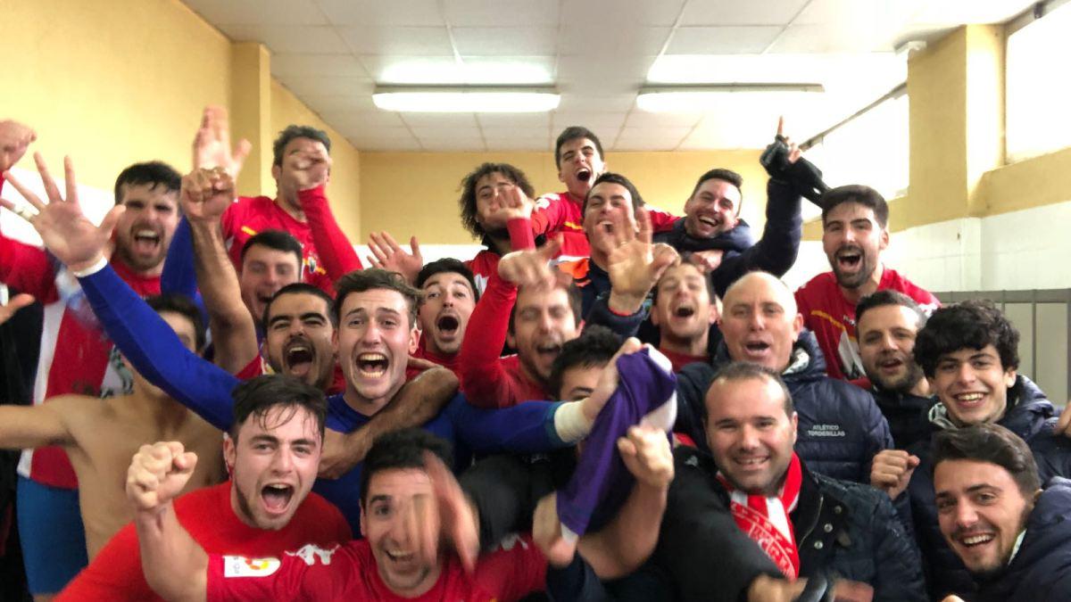 Gesta histórica del Atlético Tordesillas ante Unionistas