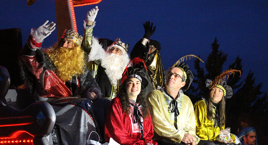 Los Reyes Magos llegan a Tordesillas