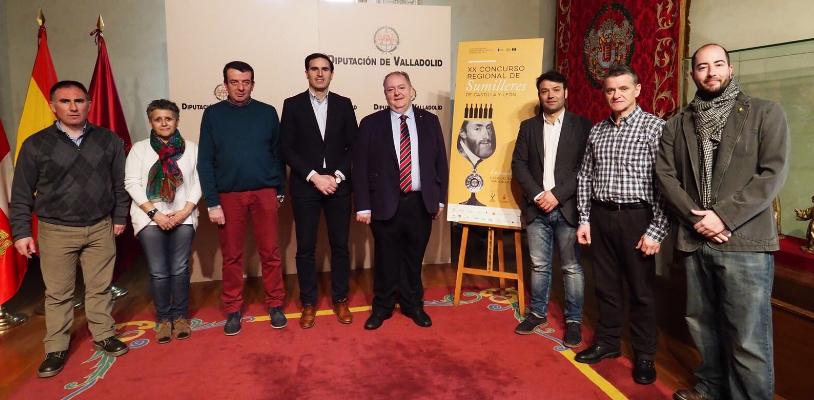 Los mejores sumilleres de Castilla y León compiten este lunes en Tordesillas