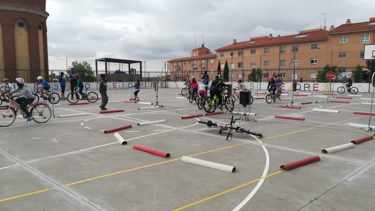 Los centros escolares de Tordesillas toman conciencia sobre la seguridad en carretera