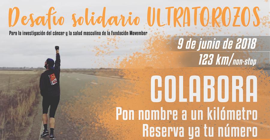 El desafío solidario 'UltraTorozos' arrancará desde Tordesillas el próximo 9 de junio