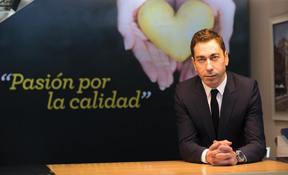 """""""Patatas Meléndez está en un lugar privilegiado para convertirse en líder de su sector"""""""