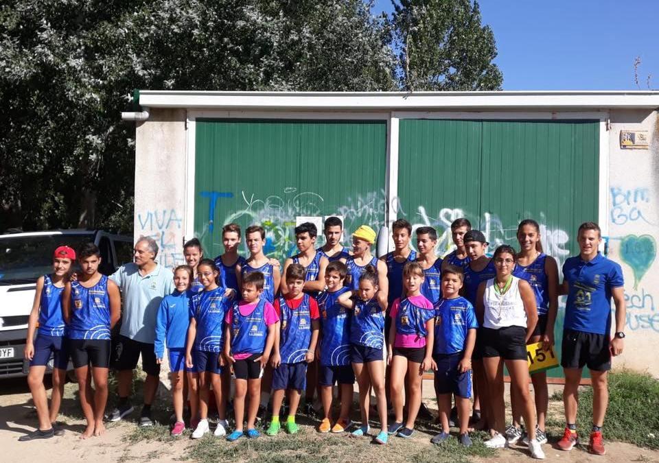 250 palistas se dan cita en la V Regata del XXIII Campeonato Regional de Edad