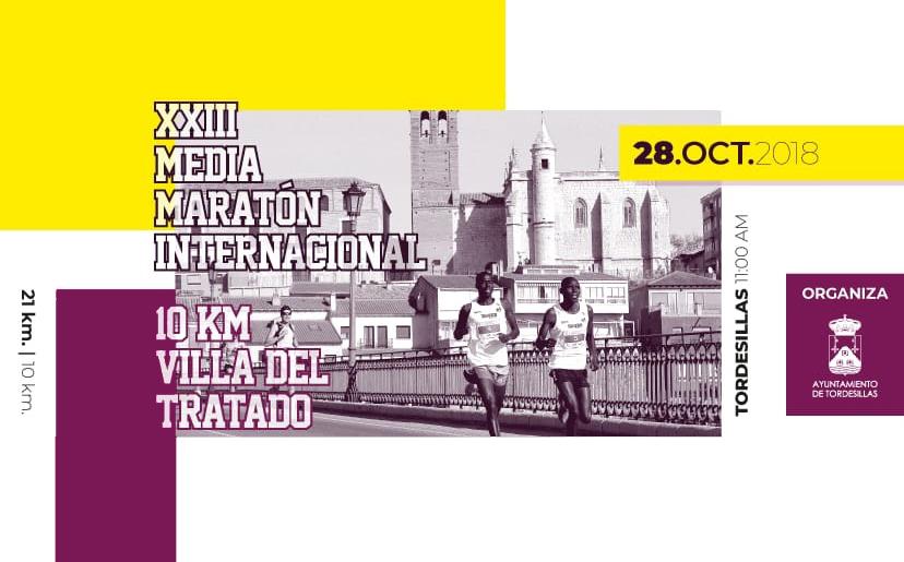La Media Maratón Internacional de Tordesillas y el 10k abren sus inscripciones
