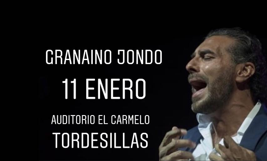 """Pedro """"El Granaíno"""" llega este viernes a Tordesillas"""