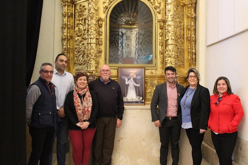 """""""La Soledad """"imagen de la Semana Santa de Tordesillas 2019"""