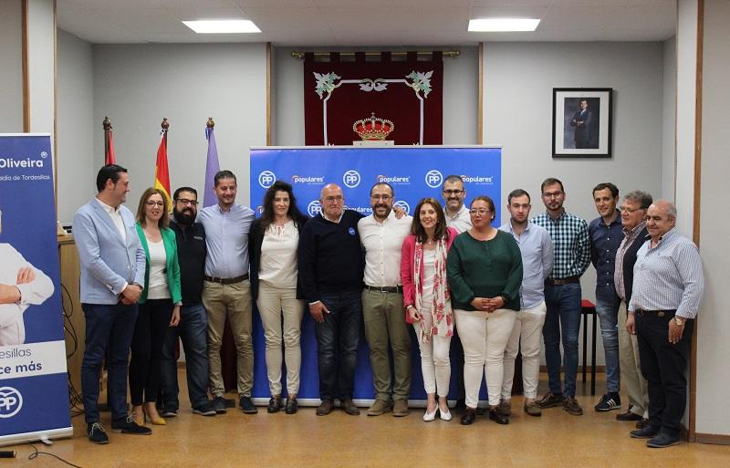 """El PP de Tordesillas considera que """"es el único partido que puede cambiar el rumbo en la localidad"""""""