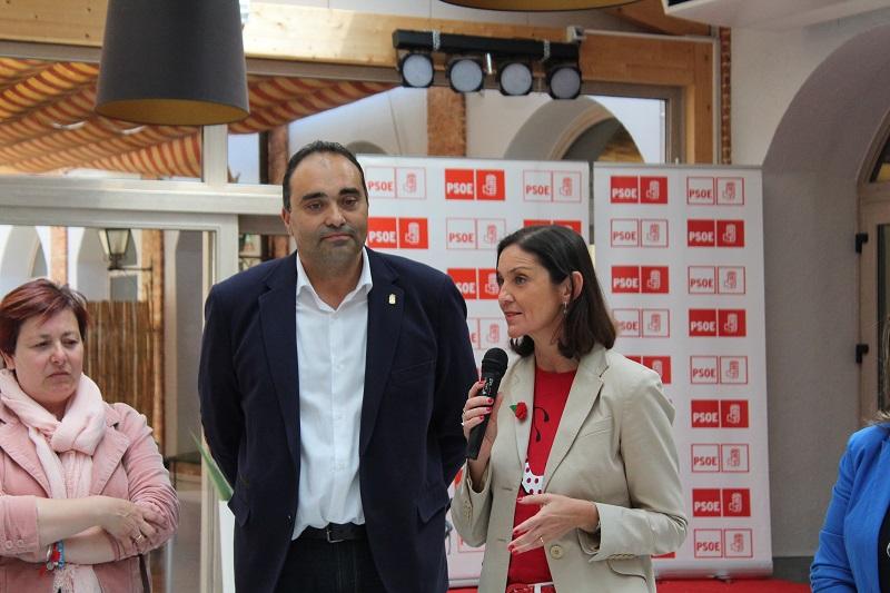 Reyes Maroto, avala el trabajo del PSOE para seguir al frente del ayuntamiento de Tordesillas