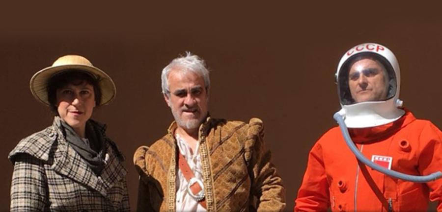 Arrancan las visitas teatralizadas con Magallanes y Elcano como telón de fondo
