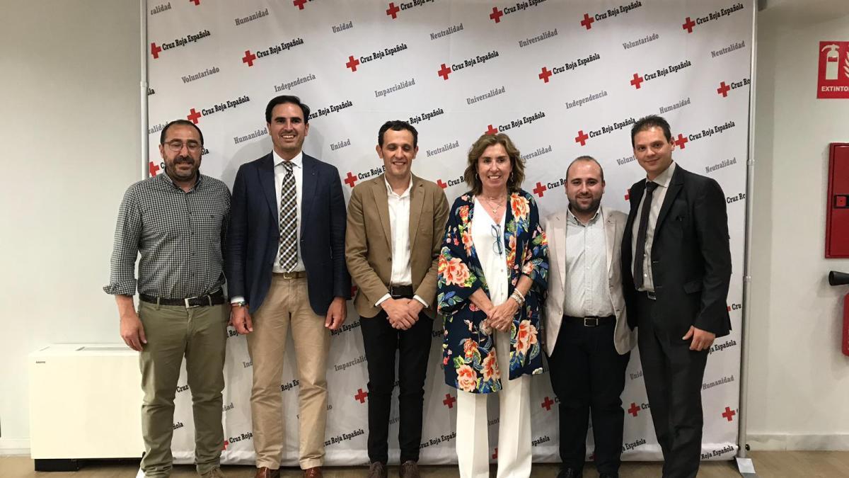 Iván de la Cruz Piñeles toma posesión como presidente comarcal de Cruz Roja en Tordesillas