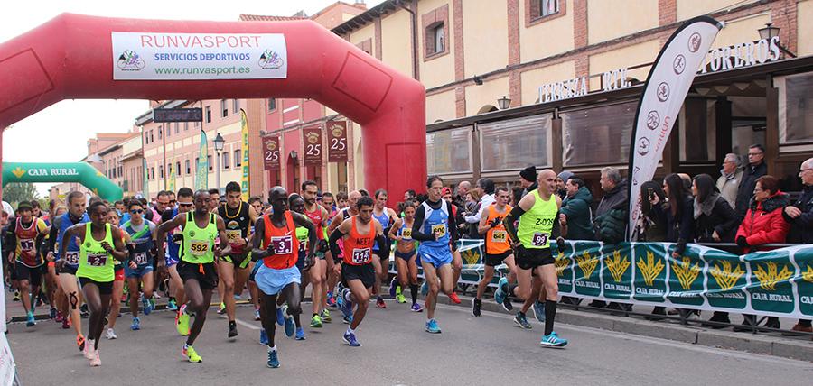La XXIV Media Maratón Villa del Tratado y 10 Km de Tordesillas se celebrará el 3 de noviembre