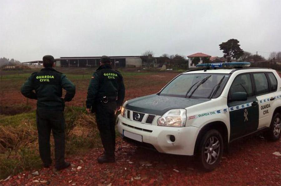 Investigados dos supuestos autores del robo de gasoleo en una finca de Villavieja