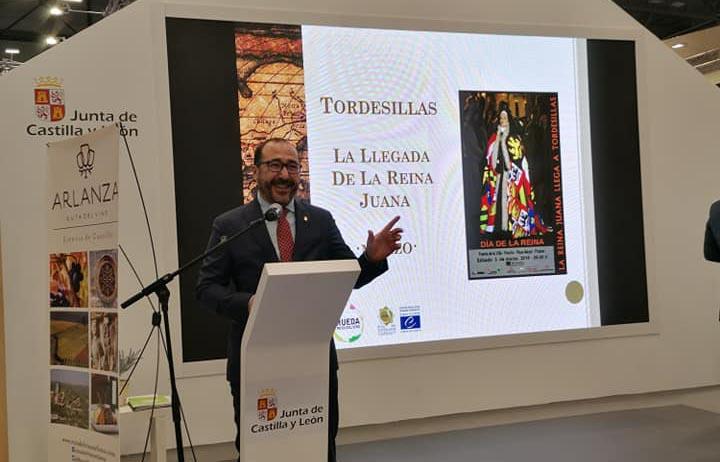 Tordesillas saca a relucir su oferta turística en FITUR