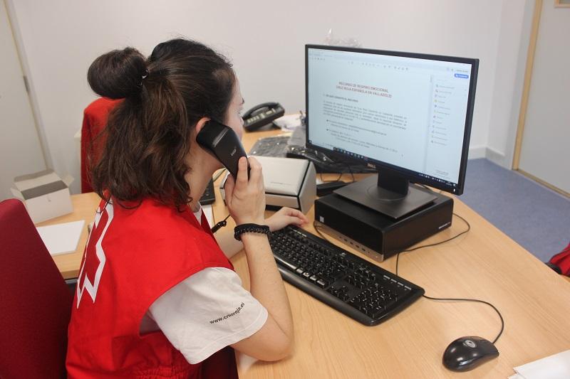 Cruz Roja habilita un servicio para ofrecer apoyo emocional frente al COVID-19