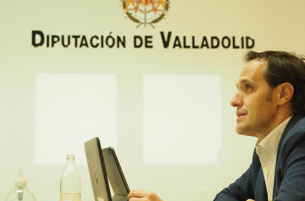 Conrado Íscar presenta las líneas básicas del Plan de Choque de la Diputación de Valladolid buscando el pacto con todos los grupos políticos