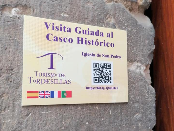 Tordesillas apuesta por las visitas interactivas y accesibles con dispositivos móviles