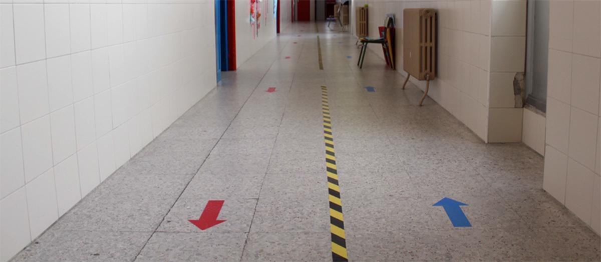 La Junta de Castilla y León pone en cuarentena un aula en el CEIP Pedro I