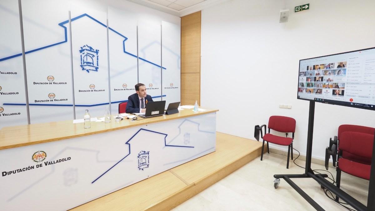 El Pleno de la Diputación de Valladolid aprueba el Presupuesto consolidado para 2021 que supera los 118,10 millones de euros, un 6,7% más que el actual ejercicio.