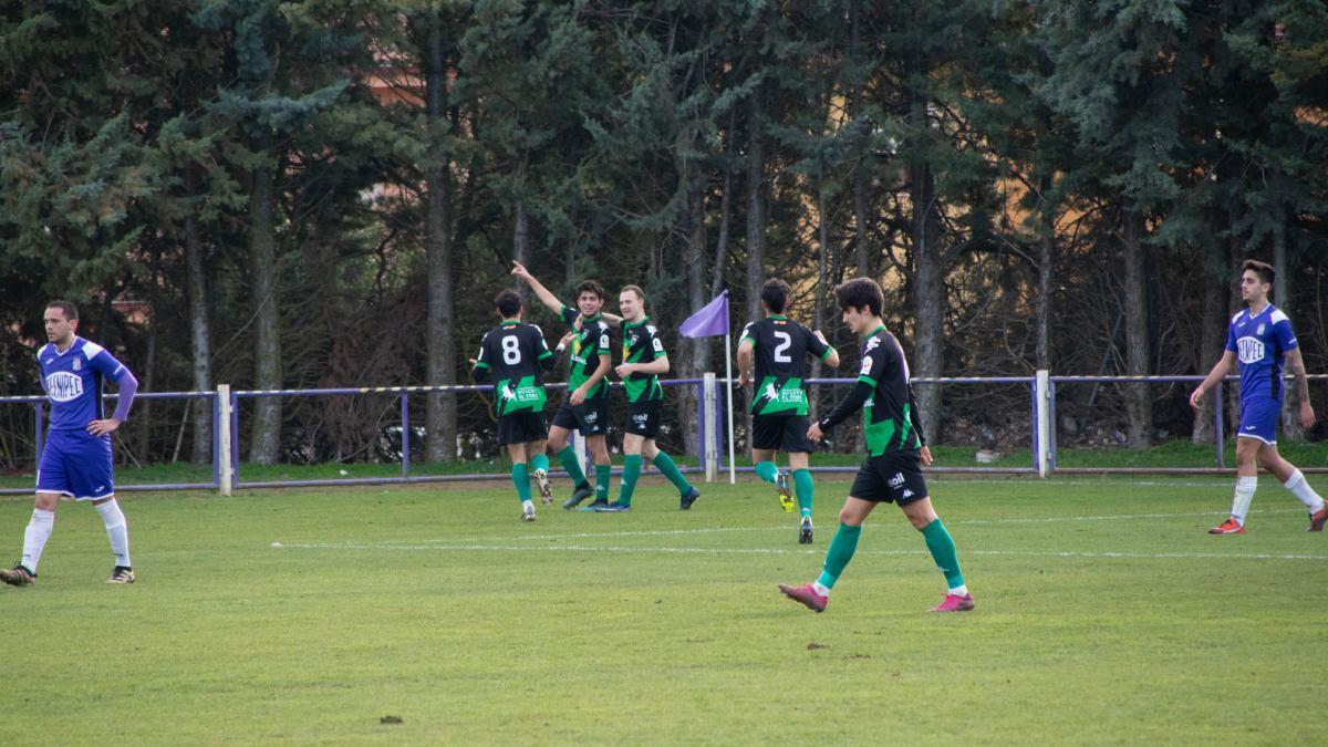 Un gol de Luismi da la tercera victoria consecutiva al Tordesillas