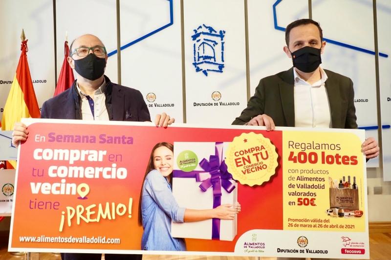 La Diputación y Fecosva renuevan el convenio de promoción y consolidación del comercio rural de la provincia