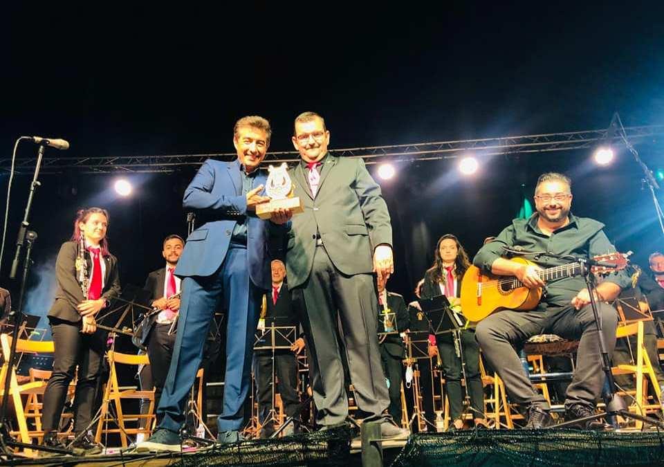 Tordesillas se rinde a Juan Valderrama y a su Banda de Música