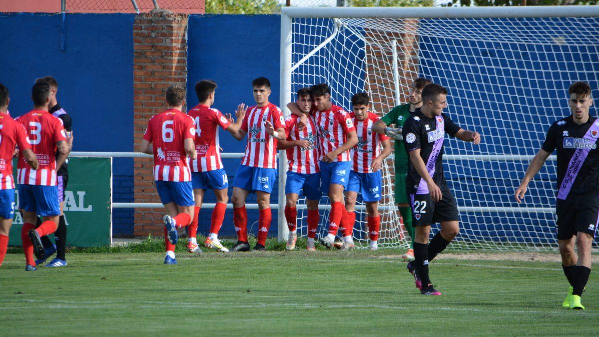 El Tordesillas sufre pero consigue su segunda victoria de la temporada a costa del Numancia B
