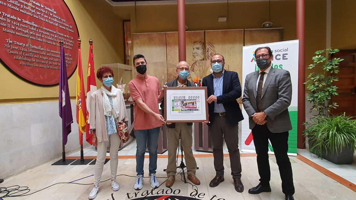 Tordesillas será protagonista del próximo cupón del 2 de octubre de la ONCE