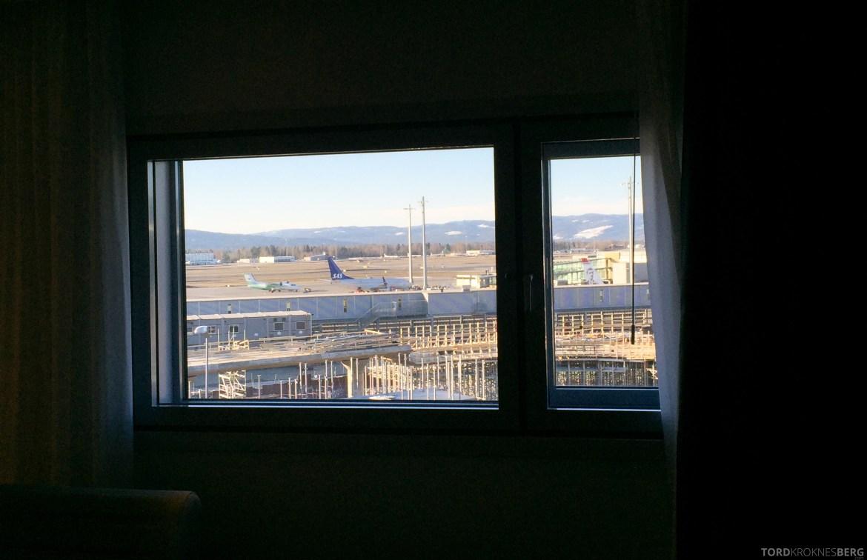 Radisson Blu Oslo Airport Hotel Business Class utsikt