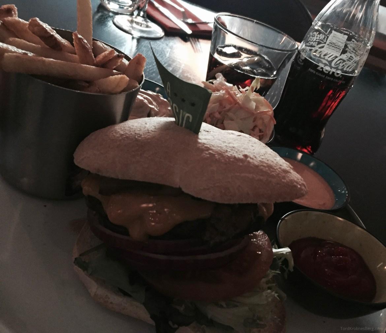 Scandic Lerkendal burger