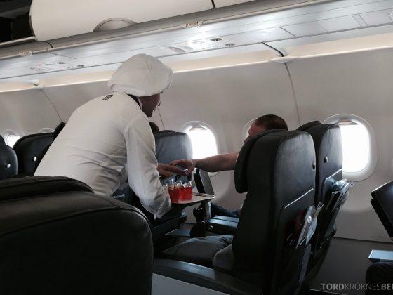Turkish Airlines Business Class kokk