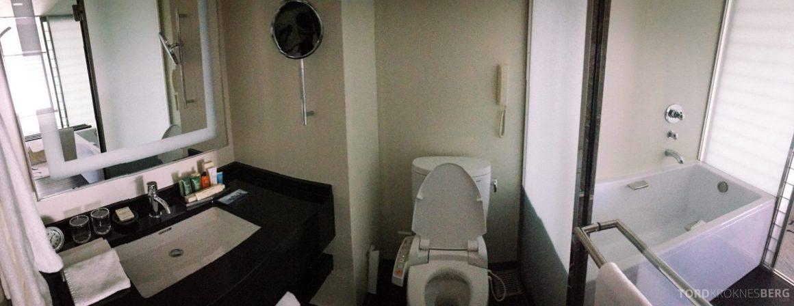 Hilton Tokyo King Executive Suite bad