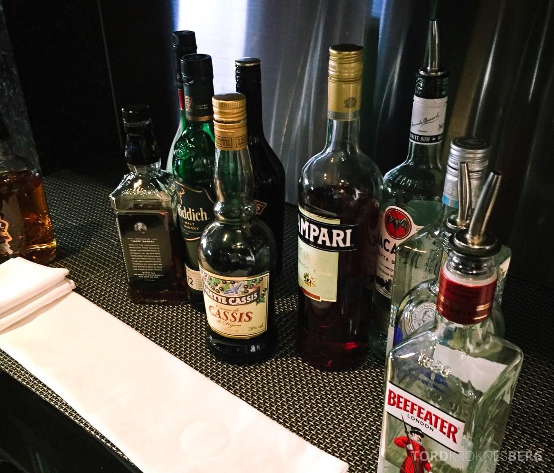 Hilton Tokyo Executive Lounge drikke