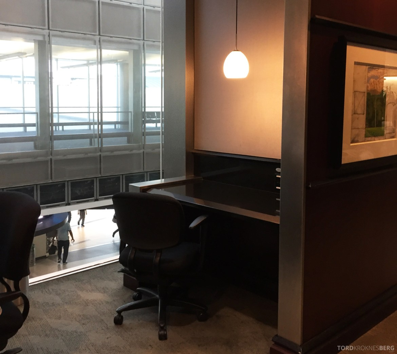 United Club Lounge Houston kontor