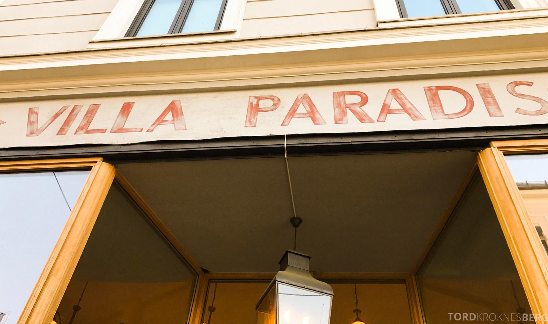 Villa Paradiso Frogner fasade