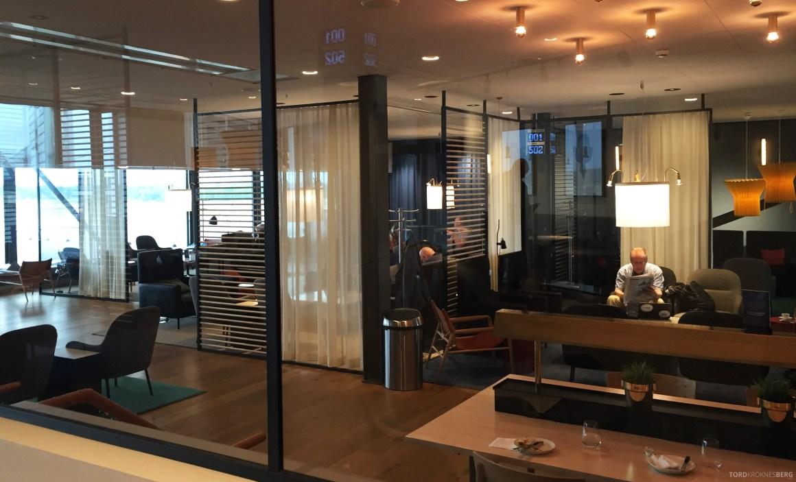 SAS Gold Lounge Stockholm interiør