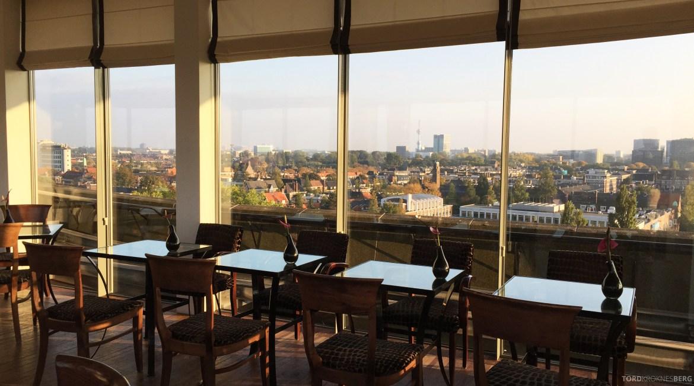 Hilton Amsterdam Executive Lounge utsikt