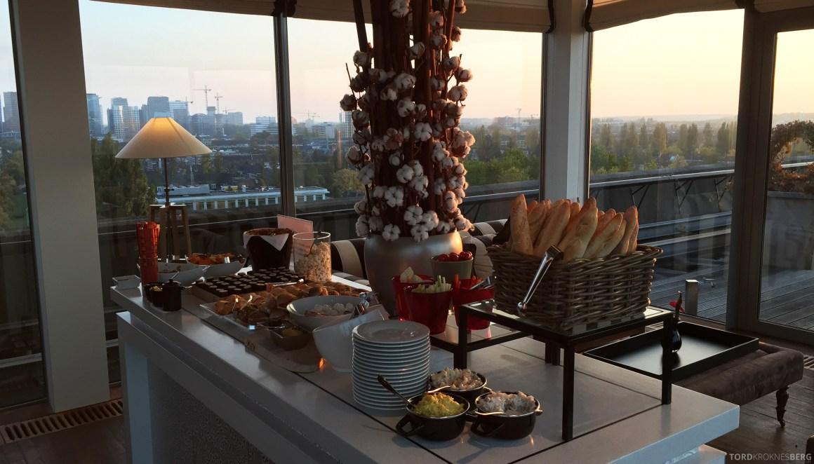 Hilton Amsterdam Executive Lounge mat