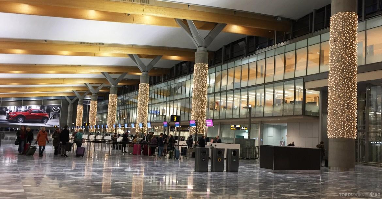 Nye Oslo Lufthavn Norwegian avgangshall