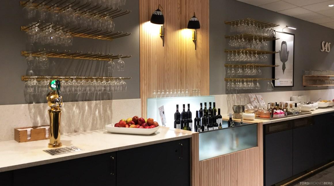 SAS Plus Oslo Zürich lounge