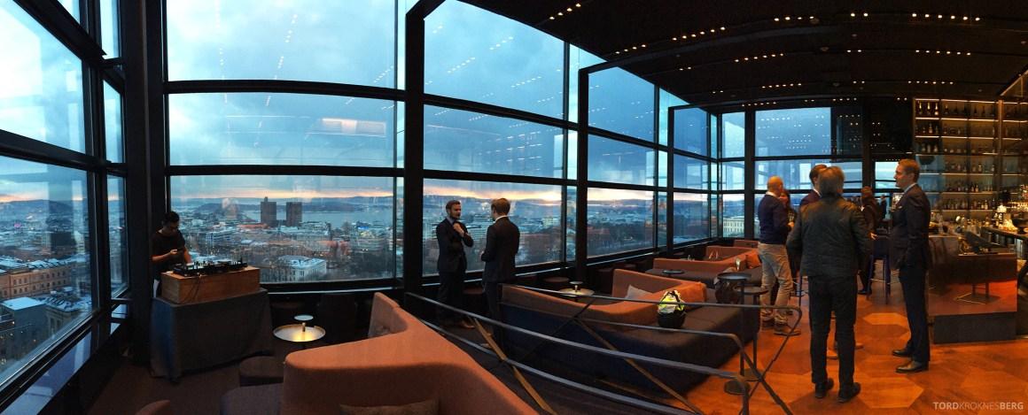 Summit Bar Oslo panorama