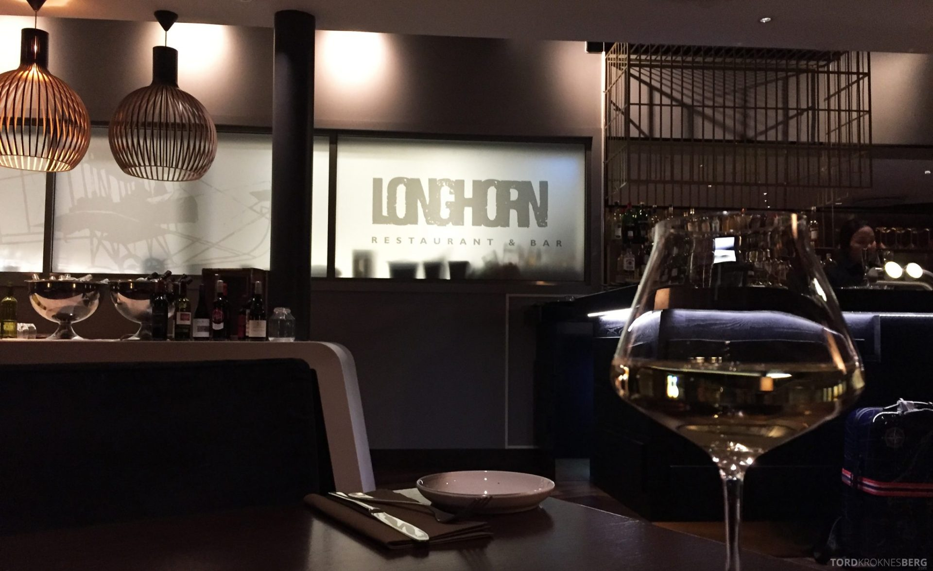 Longhorn Restaurant Radisson Blu Værnes Trondheim detalj