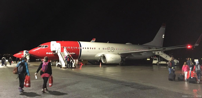 Norwegian Charter Trondheim Las Palmas fly
