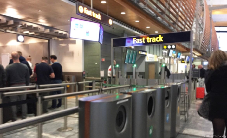 SAS Fast Track Oslo