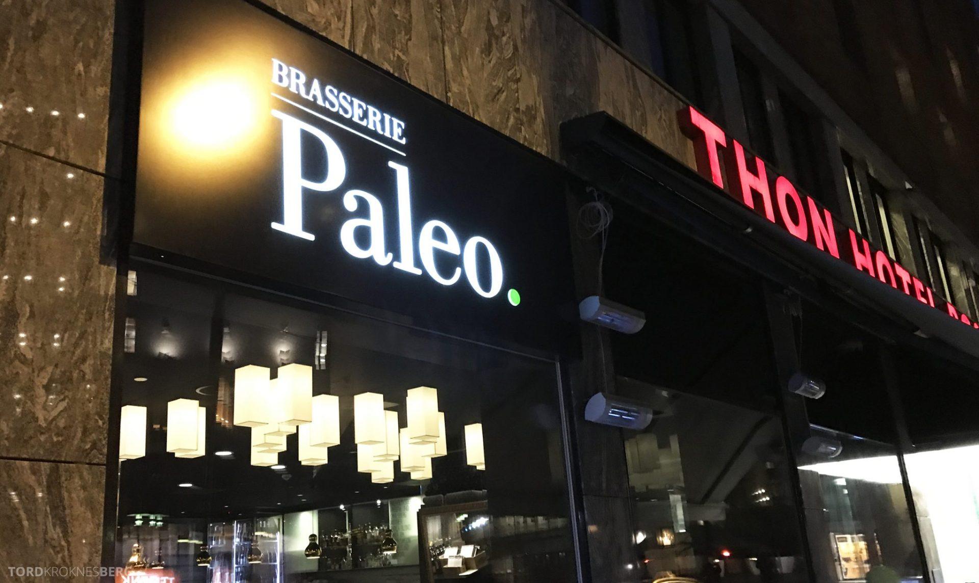Brasserie Paleo Oslo inngang