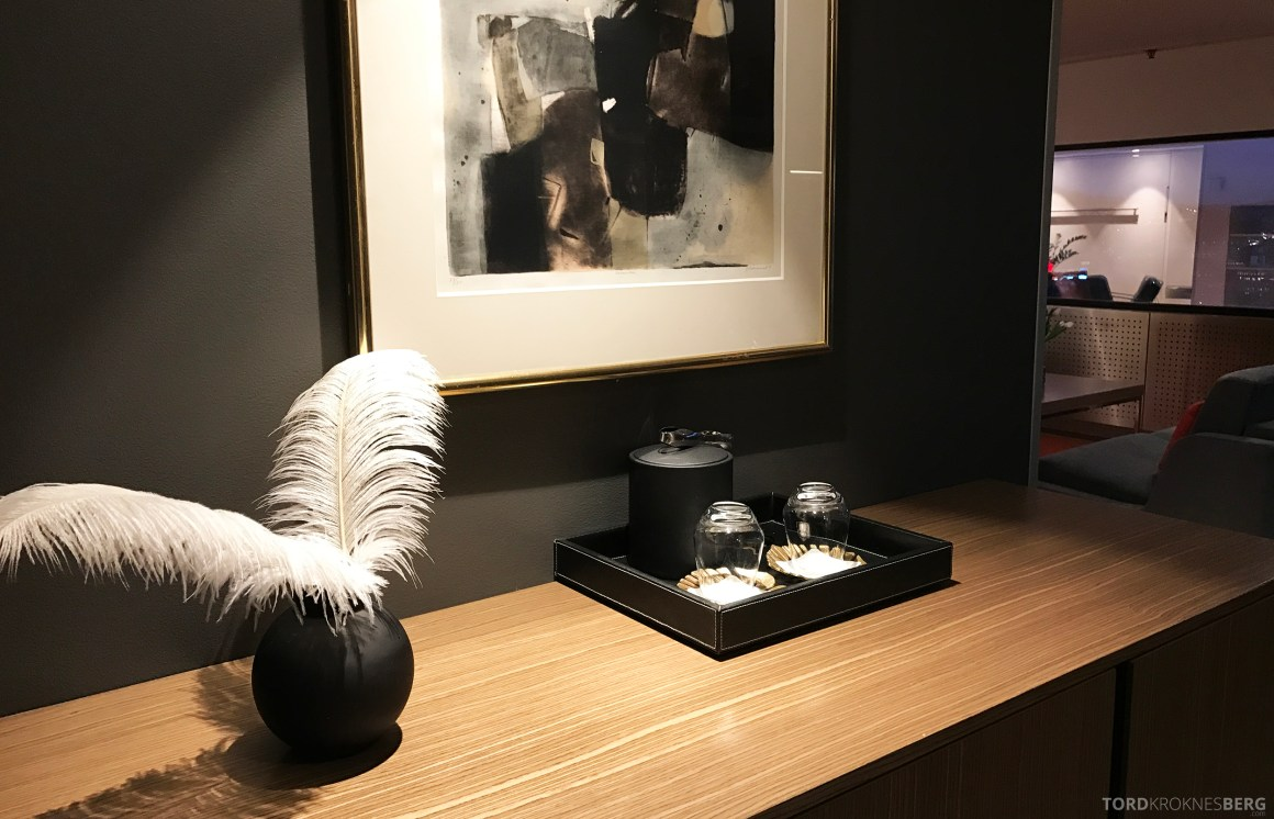 Radisson Blu Scandinavia Hotel suite detaljer