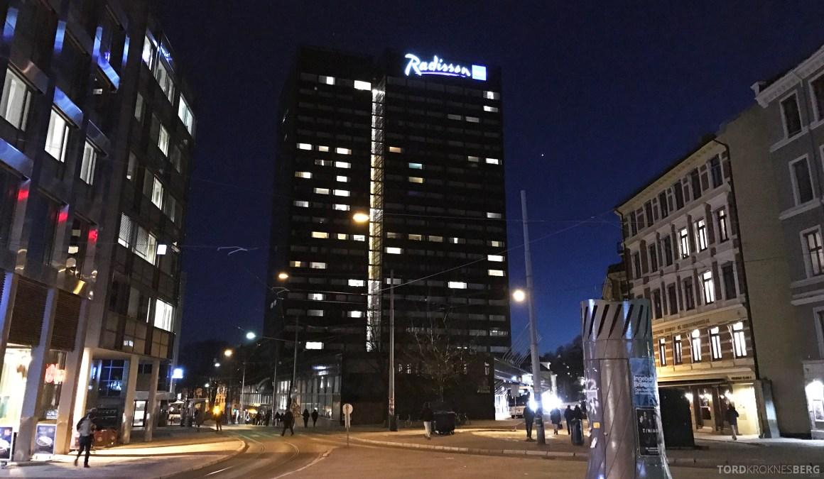 Radisson Blu Scandinavia Hotel fasade