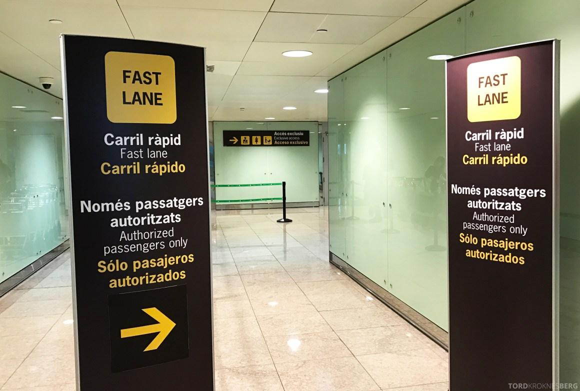 SAS Plus Barcelona fast track