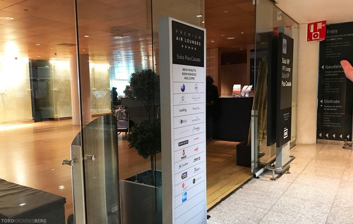 SAS Plus Barcelona lounge